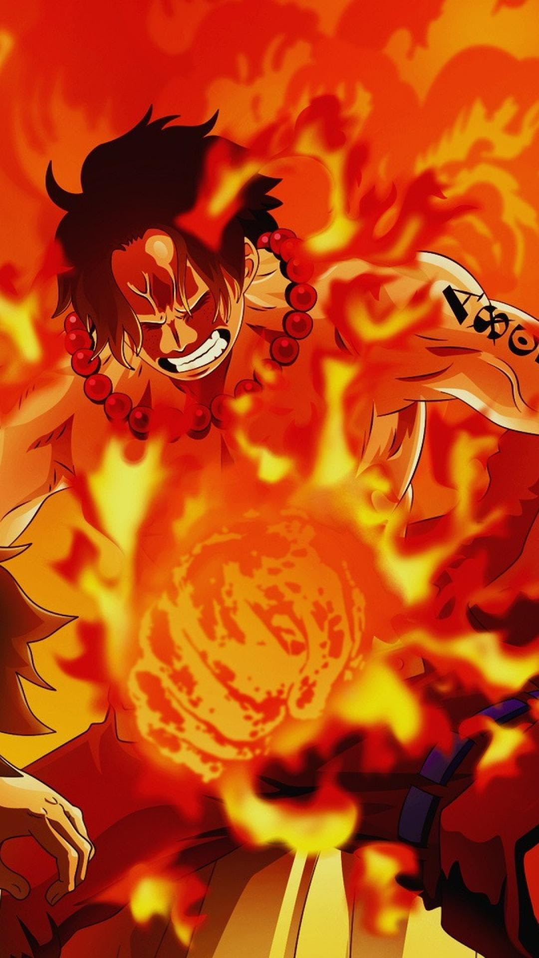 Portgas D One Piece Ace Wallpaper K Download Wallpapers Vel