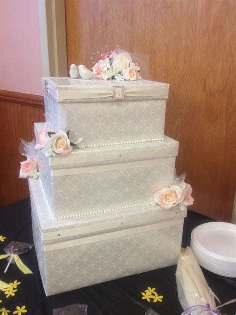 85 best images about Wedding cake card box on Pinterest