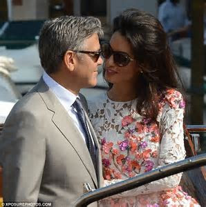 George Clooney and Amal Alamuddin make their union legal