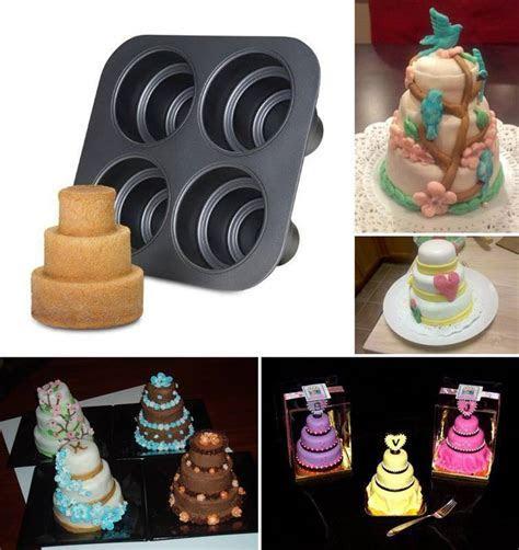 Creative Ideas   Mini Wedding Cake Pan