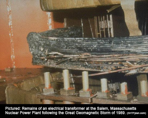 """""""If A Space Super Storm Like The 2012 Storm Hits Earth We Will Be Picking Up The Pieces For Years"""" salem transformer"""