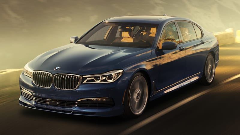 2017 Bmw Alpina B7 Xdrive Is An M7 By Any Other Name Autoblog