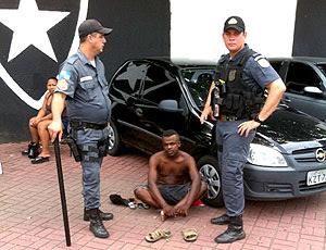 policia prende cambista na fila do Fluminense
