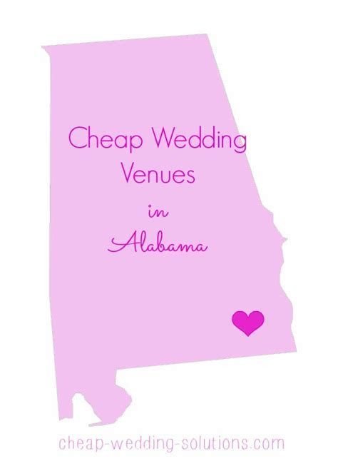 Cheap Alabama Wedding Venues