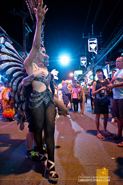 Bangla Road Lady Boys at Phuket's Patong Beach