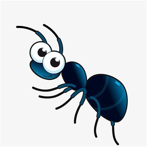 Vector Cute Cartoon Ant, Cartoon Vector, Ant Vector, Cute