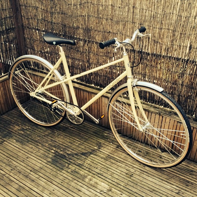 Foffa Grazia cream bike Fixie