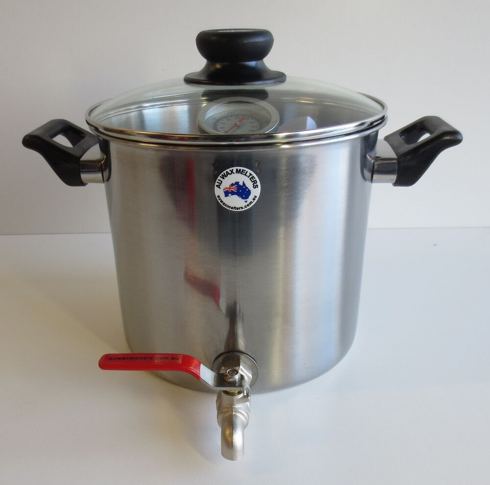 7lt Pot with Tap, Wax Melting Pot, Wax Melter, Candle ...