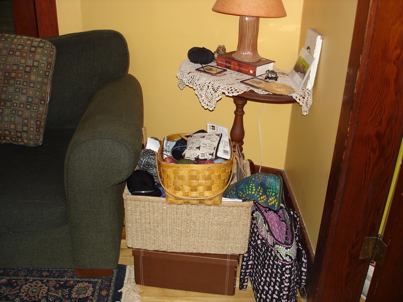 Stash in baskets and boxes