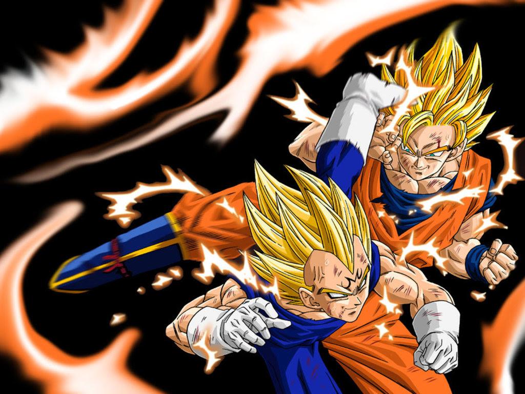 Dragon Ball Z Goku Vegeta Wallpaper