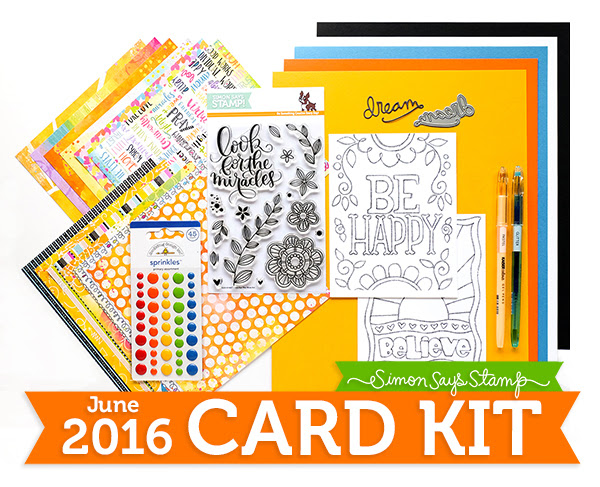 June 2016 Card Kit 600