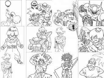 Dragon Ball Da Colorare Disegni Gratis