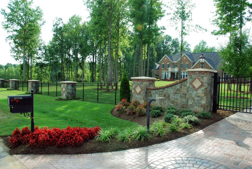 Landscaping Ideas End Driveway My Landscaping Design