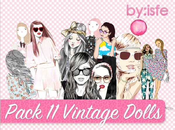 Vintage Dolls by Isfe