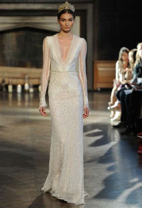 The Loveliest Long Sleeved Wedding Dresses