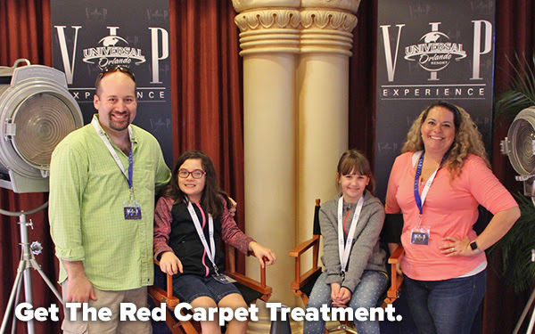 Get The Red Carpet Treatment.
