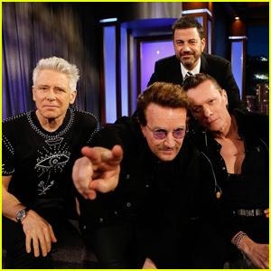 Bono Talks Manchester Arena Bombing & Blasts Donald Trump On 'Jimmy Kimmel Live' - Watch Here!