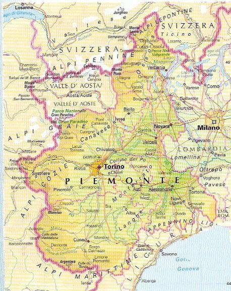 Cartina Fisica E Politica Del Piemonte.Cartina Muta Piemonte Da Stampare Stampae Colorare