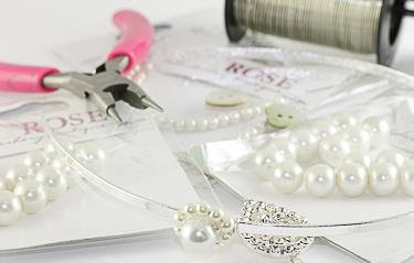 Josy Rose Tiara Making
