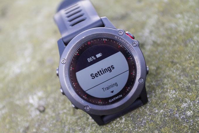Туристический GPS навигатор Garmin fenix 3. Батарея
