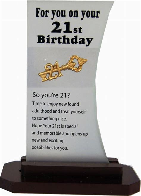 Mac's Wholesalers : 21st BIRTHDAY PLAQUES