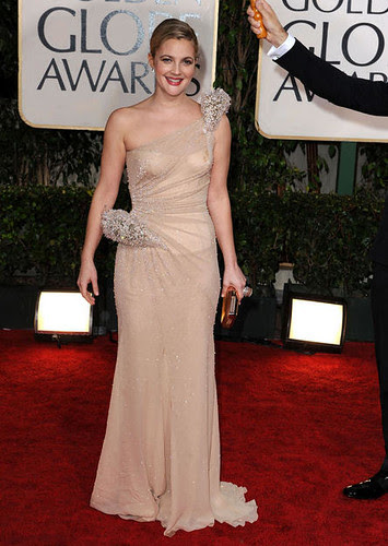 Drew Barrymore at the 67th Annual Golden Globe Awards