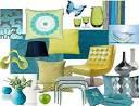 turquoise furniture design