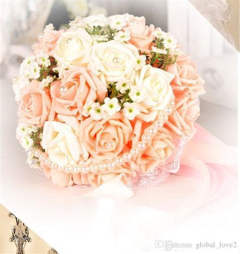 Vintage Artificial Wedding Bouquets 2017 Flowers Bridal