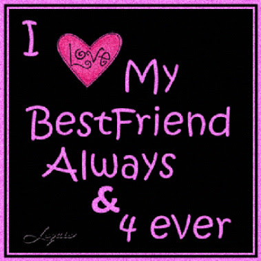 Best Friends Forever I Love You Isa Home