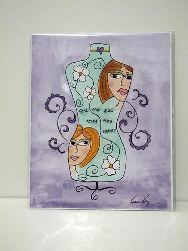 Sisters Print from Karen