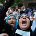 Supporters of the deposed president, Mohamed Morsi, protested near a mosque in Cairo on Friday.
