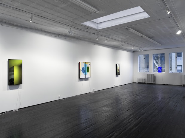 Owen Kydd, installation view of Color Shift, 2013, Nicelle Beauchene Gallery, New York. Courtesy of the artist and Nicelle Beauchene Gallery, New York.