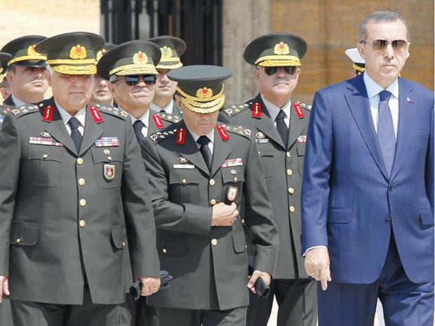 Η ολική επαναφορά των στρατηγών… και η τουρκική Ιστορία