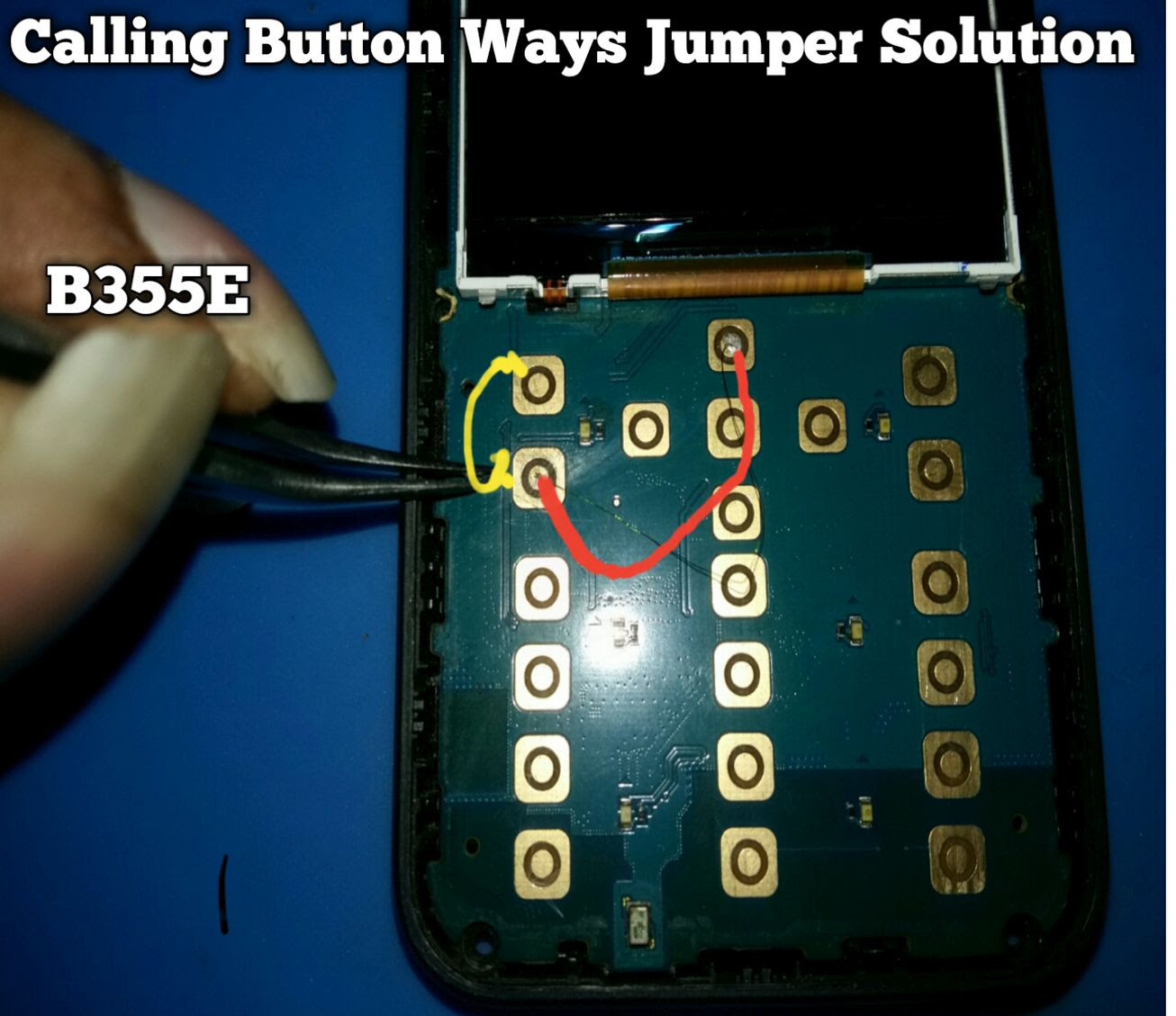 Samsung B355E Call Button keys not working keypad problem