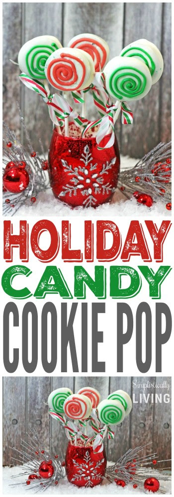 Holiday Candy Cookie Pop - Simplistically Living - HMLP 66 Feature