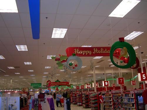 2007-11-02 Target Tukwilla Christmas Decorations