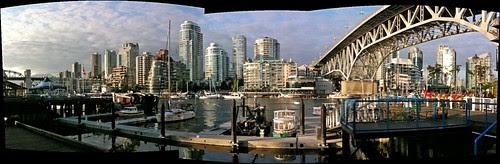 Vancouver Bridges Panorama - E