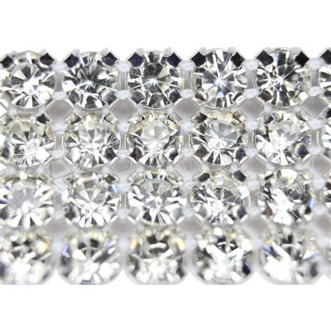 Premium 1 Row Crystal Rhinestone Ribbon / Wedding Cake