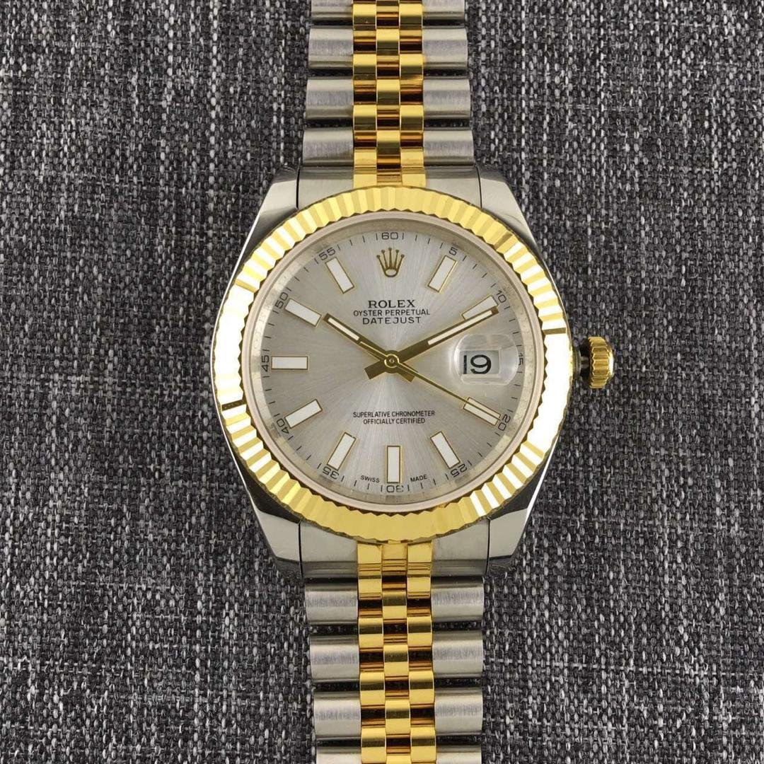 Two Tone Datejust II White Dial