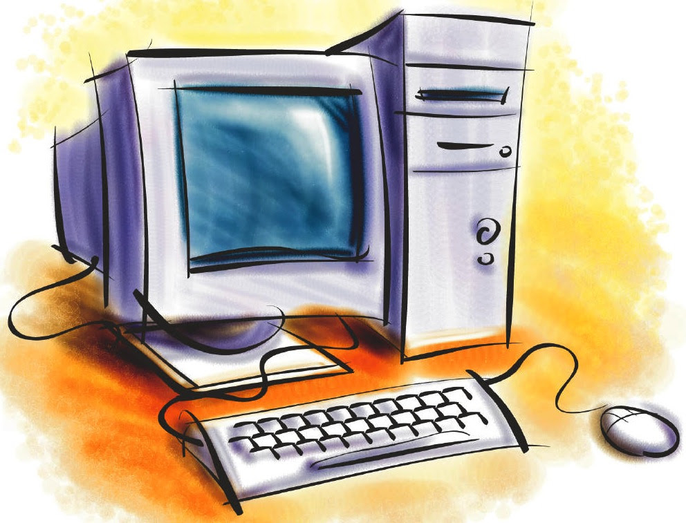 Computer Cartoon Ima