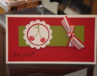 Stampin Up Tart and Tangy Tags for All