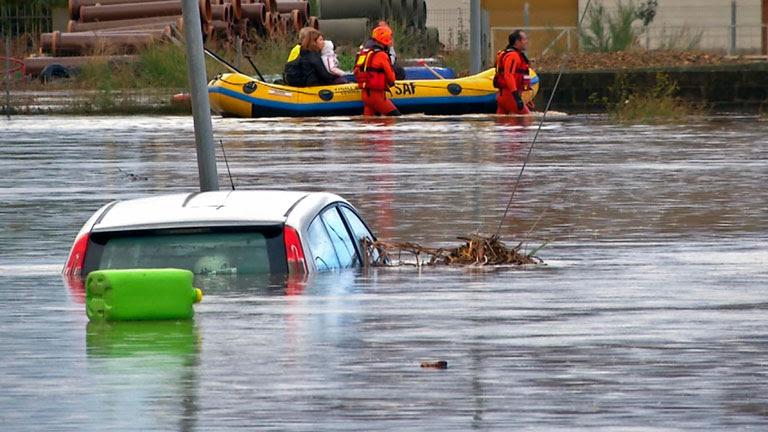 Un fuerte ciclón deja al menos 17 muertos en Cerdeña