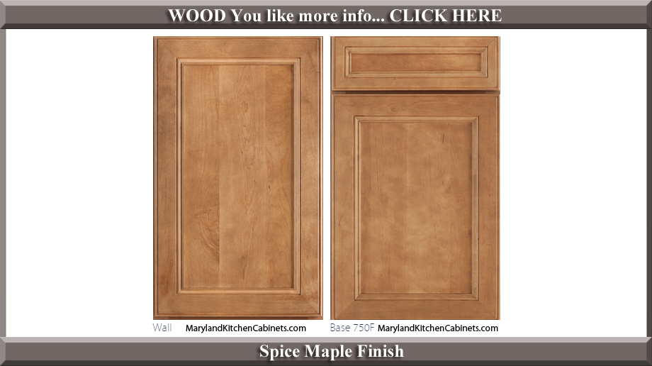 750 - Maple - Cabinet Door Styles and Finishes   Maryland ...