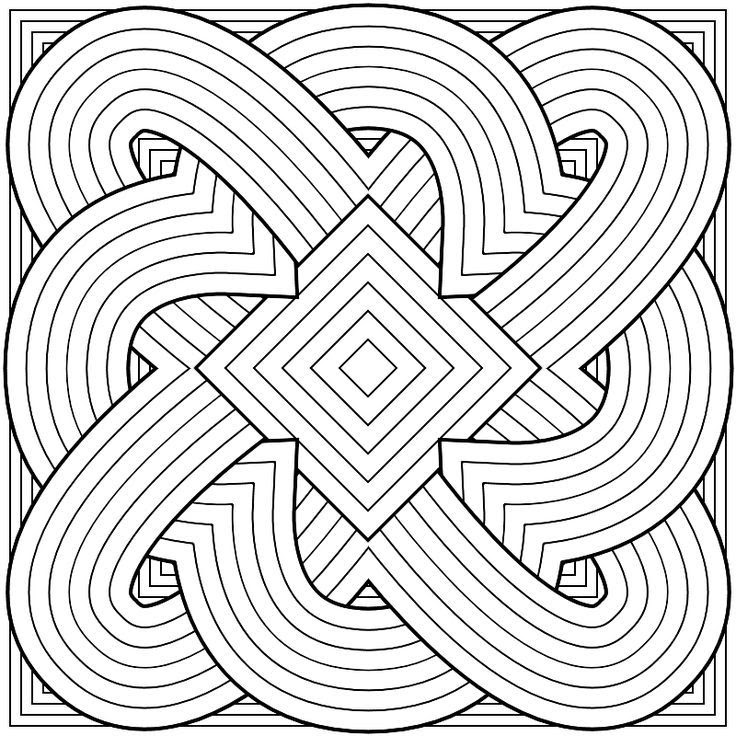 Pattern Coloring Pages For Adults - Bilscreen
