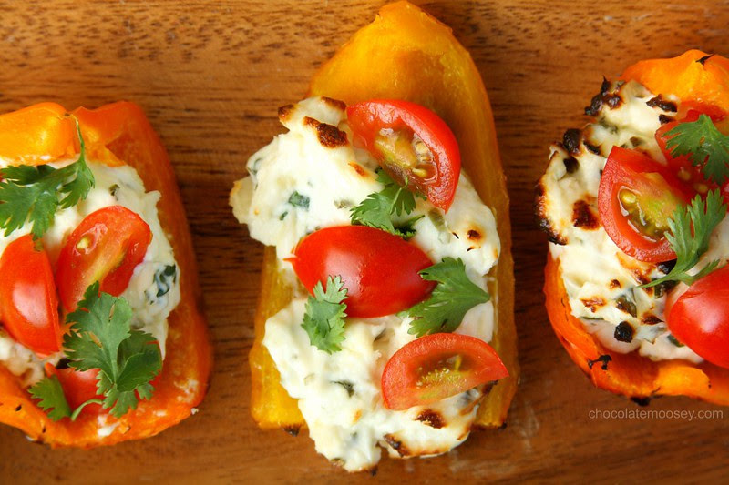 Herbed-Cream-Cheese-Grilled-Bell-Pepper-Boats-8513-1024x682