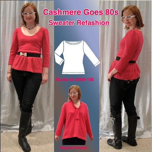 Pink Cashmere Refashion