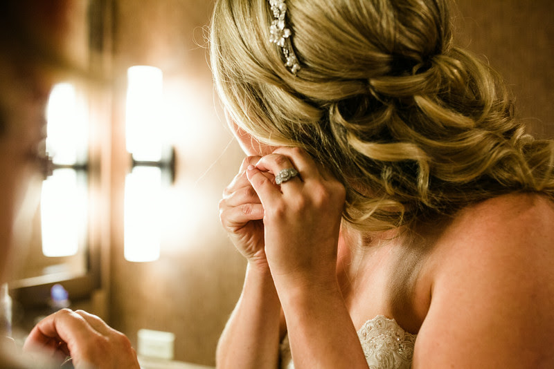 pre-ceremony and prep with the Bride at Hyatt Lodge at McDonald's Campus, Oak Brook Illinois, Grand Oaks Pavillion Wedding. By Mindy Joy Photography