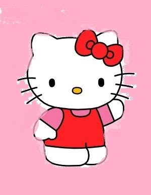 35 Trends For Easy Hello Kitty Cartoon Drawing With Colour