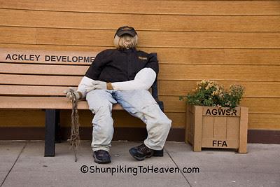 Scarecrow Dummy, Ackley, Iowa
