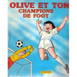 Album Figurines Panini N° 1 : Olive Et Tom Champions De Foot - 4è Trimestre1988